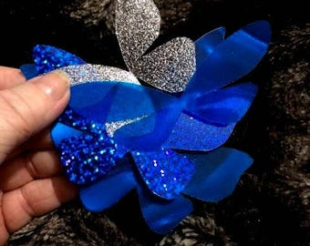 Mixed Butterfly Wings Blues, Golds, Reds, Pinks, Card Toppers, Embellishments, Table Decor