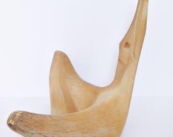 Modern Terracotta Sculpture - Reclining Woman Figure