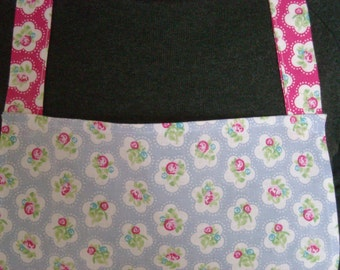 Apron - Ladies' blue and pink
