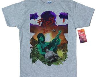 First Blood T shirt, Rambo