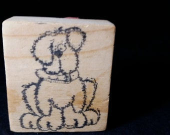 Cute Puppy Used Rubber stamp View all Photos