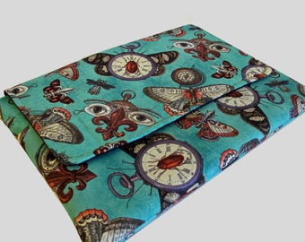 "15 Inch Laptop Case, 15 Inch Laptop Sleeve, 15"" Laptop Cover, 15"" Laptop Bag, Laptop Case 15"" - Steampunk Moths"
