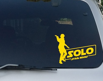 Solo Logo w/ Figure Decal