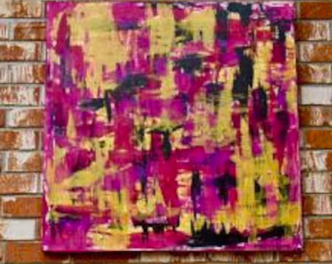 """Abstract Painting """"WIthin Layers 2"""""""