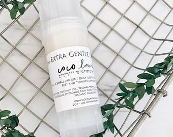EXTRA GENTLE DEODORANT // Lavender Melalueca scent // baking soda Free deo // deodorant // cruelty free //non toxic deodorant // organic
