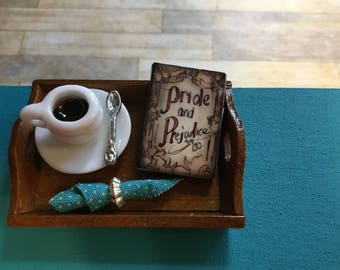 "Dollhouse Miniature Book ""Pride and Prejudice"""