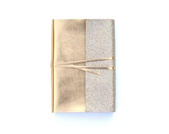 A5 Notebook Cover, A5 Planner Cover,  Bullet Journal,  Bible Journal,  Gold A5 Desk Calendar,  Wedding Planner Book, Hobonichi Cousin