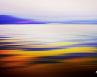 SILKWATER VII by Sven Pfrommer - 140x70cm Artwork is ready to hang