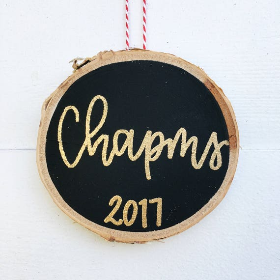 Custom name ornament