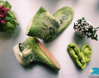 Great felted indoor socks size 37-38 (EU)