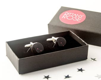 July birthday gift, gift for husband, Cancer constellation cufflinks, first anniversary gift, Cancer star sign, zodiac cufflinks, paper gift