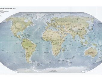 Map of the World, June 2012
