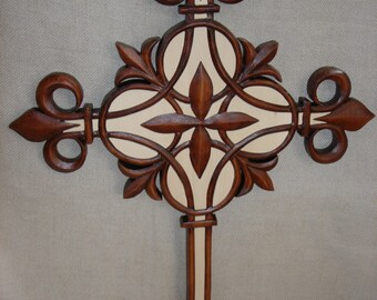 Wooden Cross  Handmade Cross  Christmas  Cross  Cross wall decor