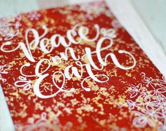 Peace on Earth - Christmas Card
