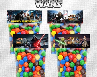 Star Wars Treat Bags, Birthday Party Treat Bags, Star Wars Party Favors, Star Wars bags, Birthday Party Favors, Star Warss Candy| ST_FULL