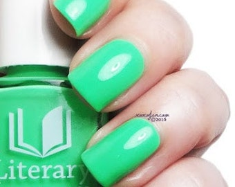 If Thou Hast Eyes to See - Sea Green Creme Nail Polish