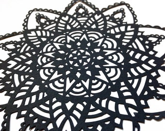 Mandala Pattern Papercut Template PERSONAL USE