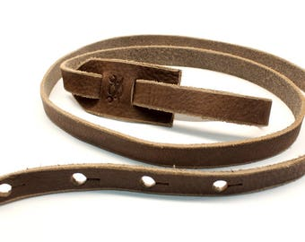 F Style Mandolin Strap, Sienna Brown Leather Mandolin Strap, Bluegrass, Americana, Roots, Country, Leather Strap, Mandolin, Leather,