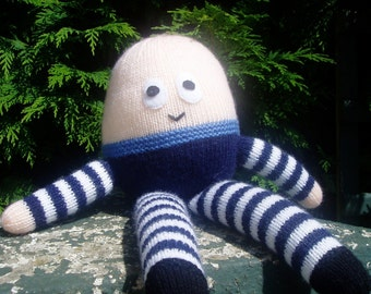 PDF Knitting Pattern - Humpty Dumpty