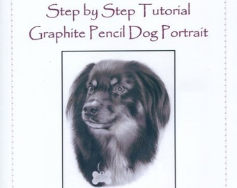 Step by Step Art Tutorial - A Dog Portrait in Graphite Pencil by Karen Hull
