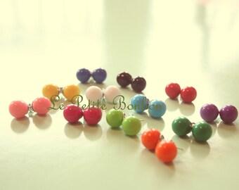 Mini Gumball earrings