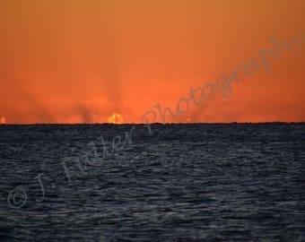 Solar Flare Sunrise