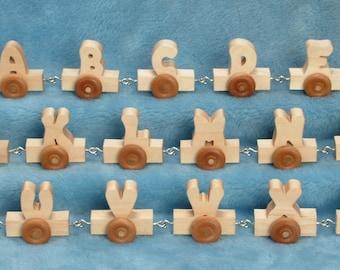 Mini Alphabet Train