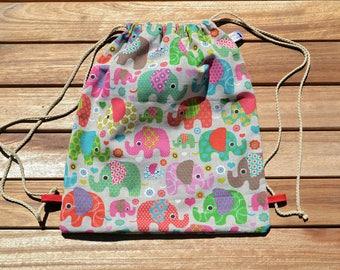 Nursery, kindergarten bag bag, kids backpack, purse bag poncho, blanket, snack bag, pool bag