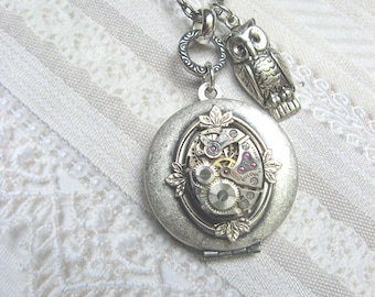 Once Upon A Time Silver Owl