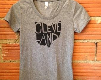 Cleveland, Ohio Ladies Bella T- Shirt