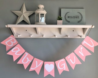 Baby Girl Banner, Baby Shower Decoration, It's A Girl
