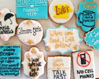Gilmore girls cookies (12)