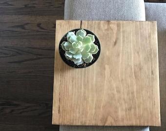 Sofa arm table, custom couch arm table