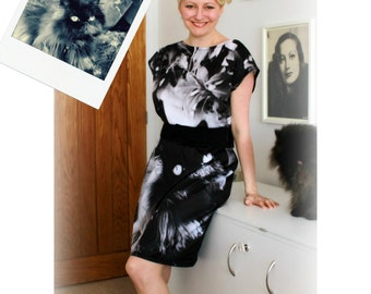 Ladies Digital Photo Tunic Dress - Your digital photo on a handmade dress!!!!