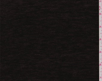 Espresso Brown Chenille, Fabric By The Yard