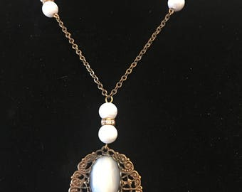 1960's costume victorian necklace