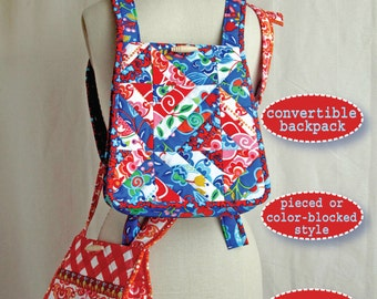 Sonja Backpack-to-Bag Pattern
