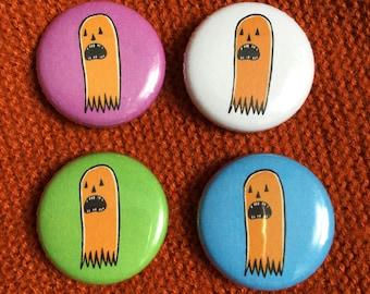 Pumpkin Ghost - Pin