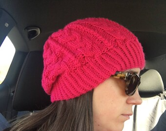 Cables a Go Go Knit Hat