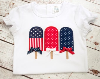Fourth of July Shirt - Fourth of July Baby Girl - Patriotic Shirt - 4th of July Shirt - 4th of July Baby Girl - Independence Day Shirt