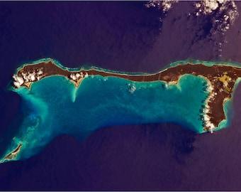 Cat Island, Bahamas; Custom Printed Photographic Poster