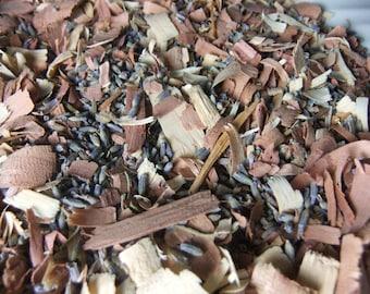 Lavender and Cedar Wood Mix/Sachet Potpourri - 5 cups - DIY