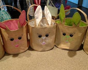 Bunny Easter Bucket
