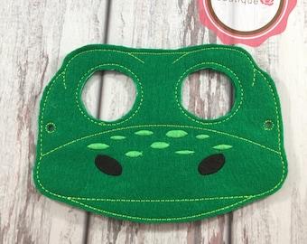 Dinosaur Mask, Dino Mask, Felt mask, Party Favors, Party Mask