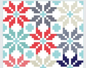Norway Quilt Pattern by Camille Roskelley for Thimble Blossoms