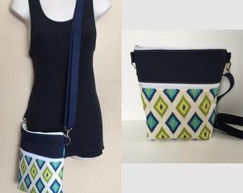 Sale***Geometric adjustable Crossbody/sling/hobo/shoulder bag