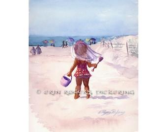 Beach Baby 8x10 fine art print