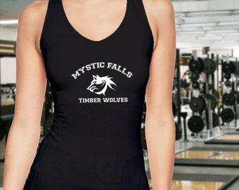 Vampire Diaries Mystic Falls Timberwolves Tank Top