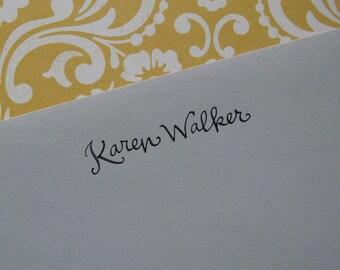 Digital File: Handwritten Name/Name and Address/Greeting