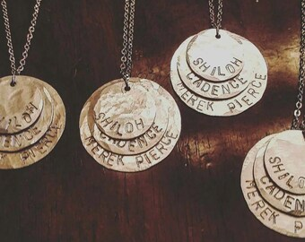 Stacked Name Necklace